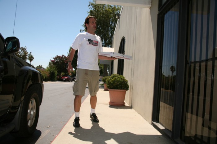Lily Carter Delivery Guy
